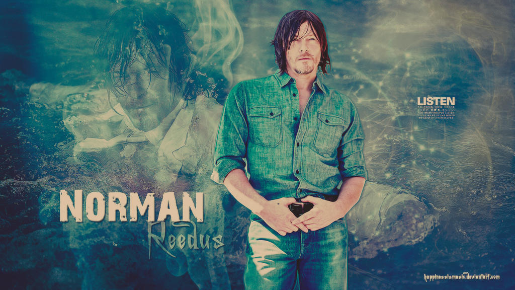 norman reedus wallpaper  Norman Reedus wallpaper 02 by HappinessIsMusic on DeviantArt