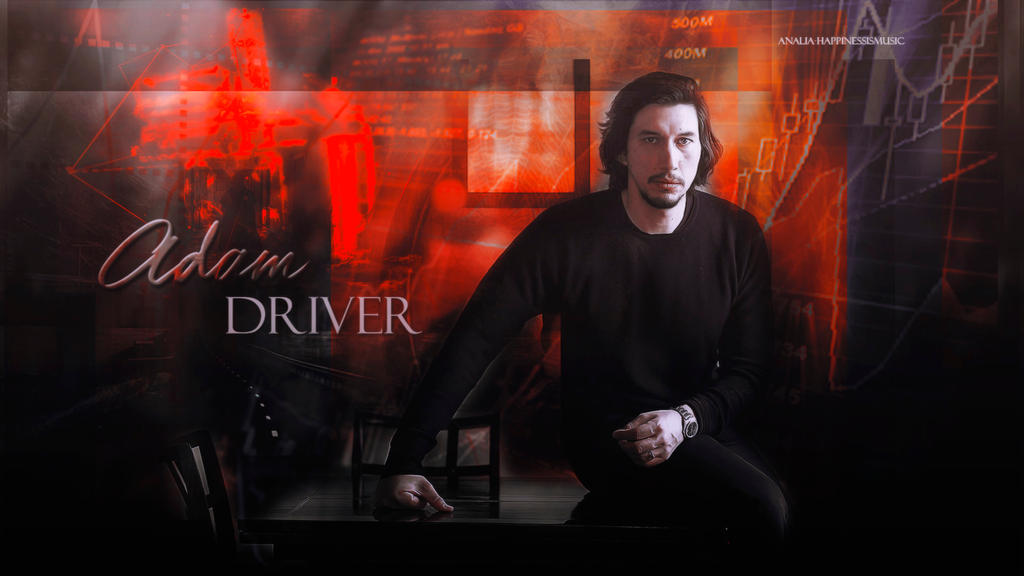 Adam Driver wallpaper 15 by HappinessIsMusic