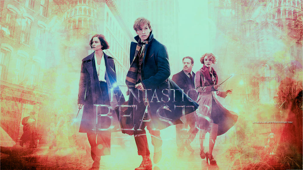 fantastic beasts and where to find them wallpaper1 by