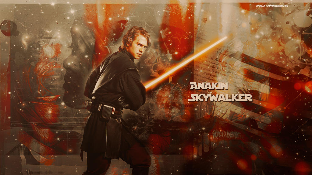 Star Wars Anakin Skywalker by HappinessIsMusic