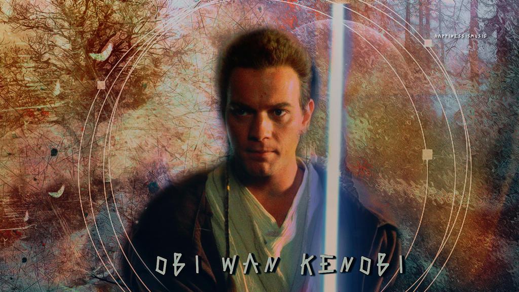 Star wars Obi Wan Kenobi 02 by HappinessIsMusic