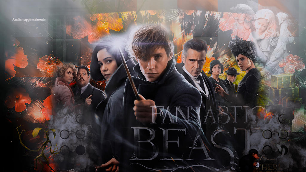 Fantastic Beasts And Where To Find Them Wallpaper By