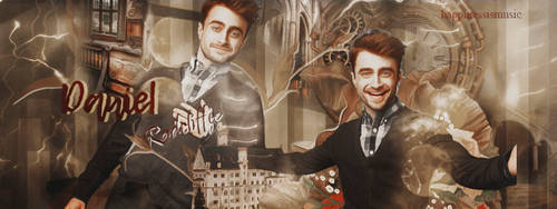 Daniel Radcliffe portada by HappinessIsMusic