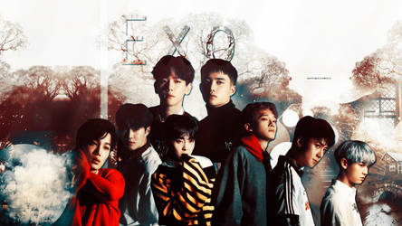 Exo wallpaper 13 by HappinessIsMusic