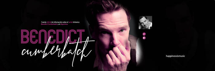 Benedict Cumberbatch header 1 by HappinessIsMusic