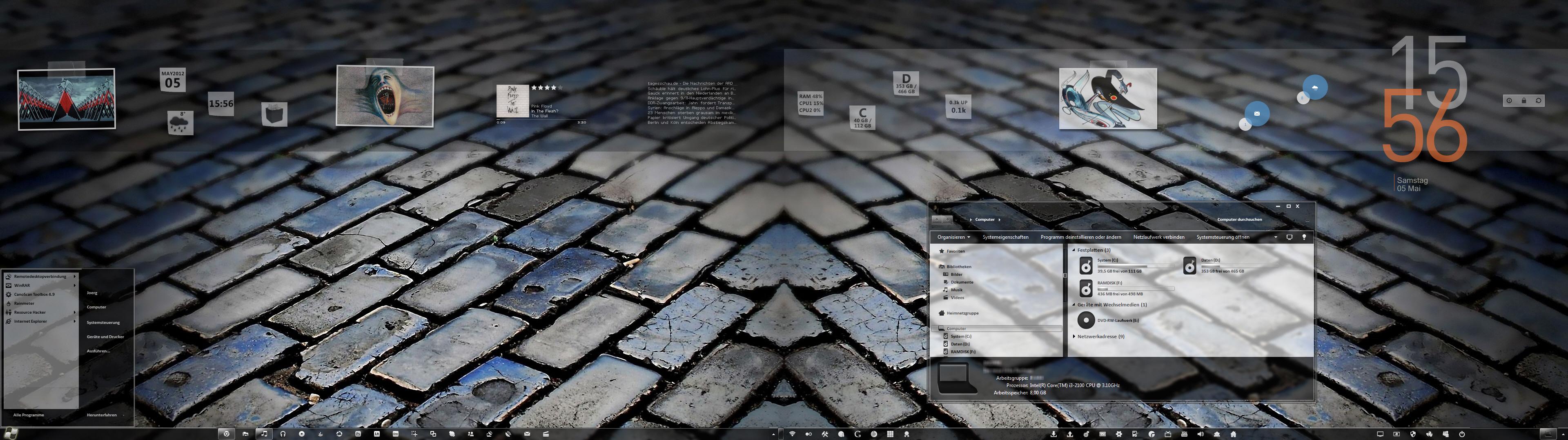 Pimp My Desktop Part 25 by Joergermeister