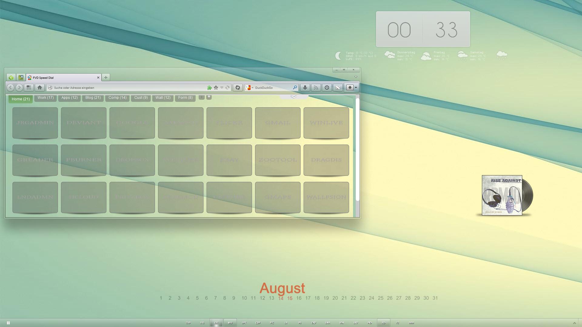 Pimp My Desktop Part 46 by Joergermeister