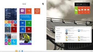 The Windows 8.1.2 Desktop