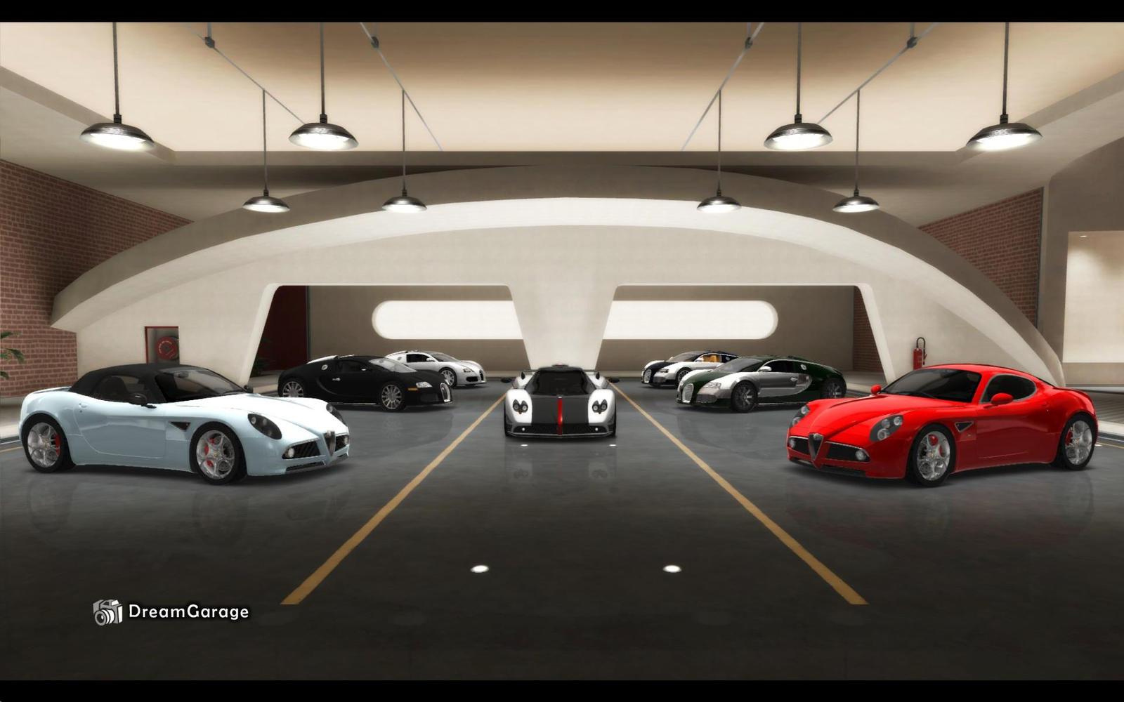 Dream car garage