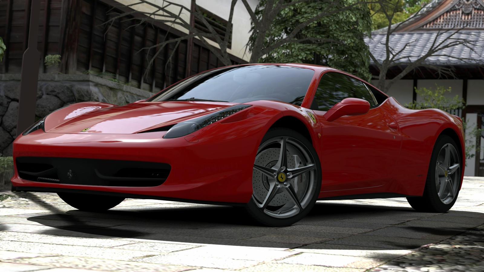 458 Italia - Rosso Corsa