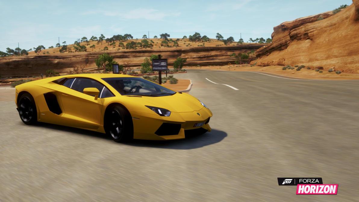 2012 Lamborghini LP700-4 Aventador - 2 by HappyLuy