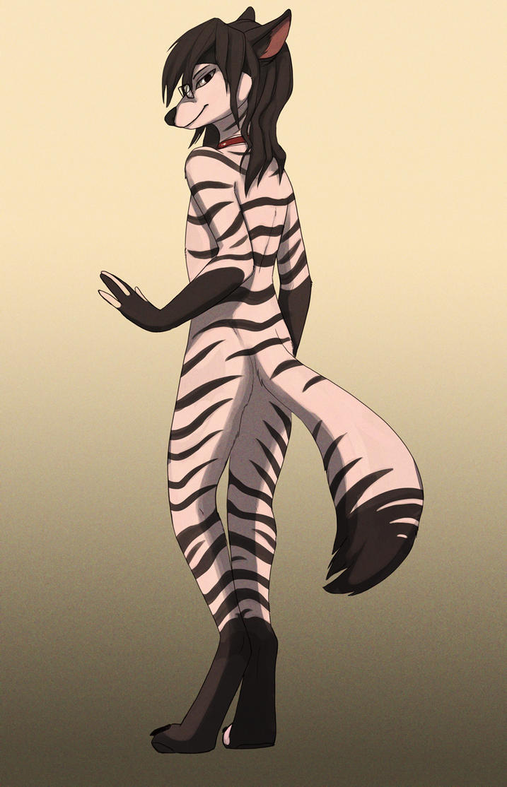 HappyLuy - The aardwolf by HappyLuy