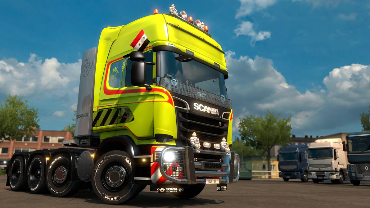 ETS 2 - Scania R620 - 1 by HappyLuy