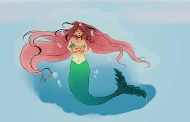 Mermaid by ParvinaAlieva