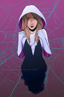 Spider-Gwen by ParvinaAlieva
