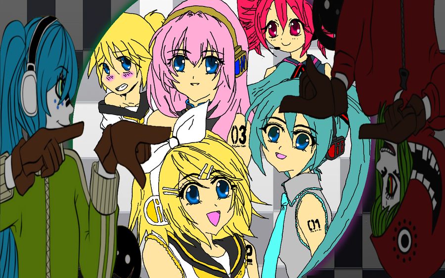 vocaloid characters wallpapers - photo #20