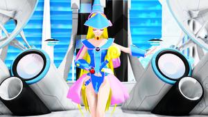 MMD NC: Dark Magician Girl
