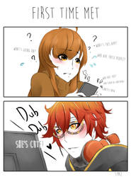 Mystic Messenger - Seven fist time met MC