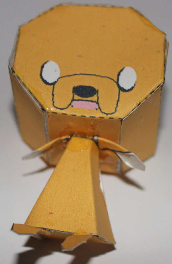 Jake the Dog Papercraft