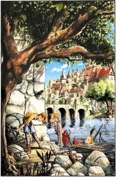 Thief and Mermaids