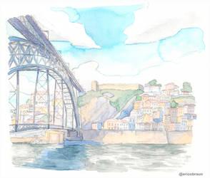 Porto Watercolor Sketch