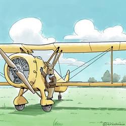 The Pilot Capybara