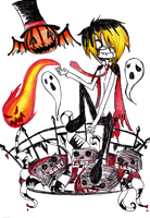 Happy Halloween by Kunehoyo