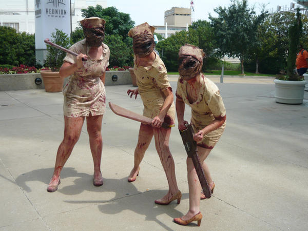 367ff6d16002f Cosplay! Silent Hill Nurse :)
