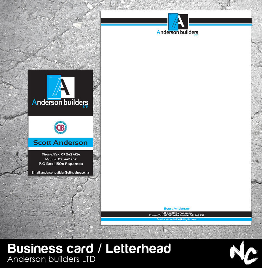 business card letterhead by Nikita2011 on DeviantArt