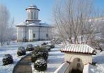 Brancoveni Monastery Winter