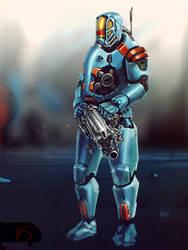 Heavy Soldier by Kratoseum