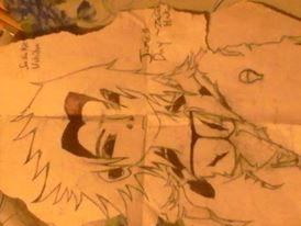 Sasuke Drawing by ZasukeHakai