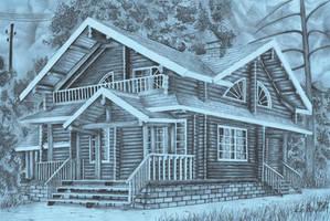 A house by oboeteru
