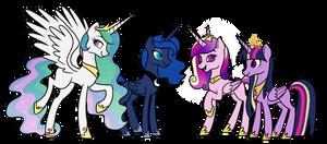 Princesses by Nebiel