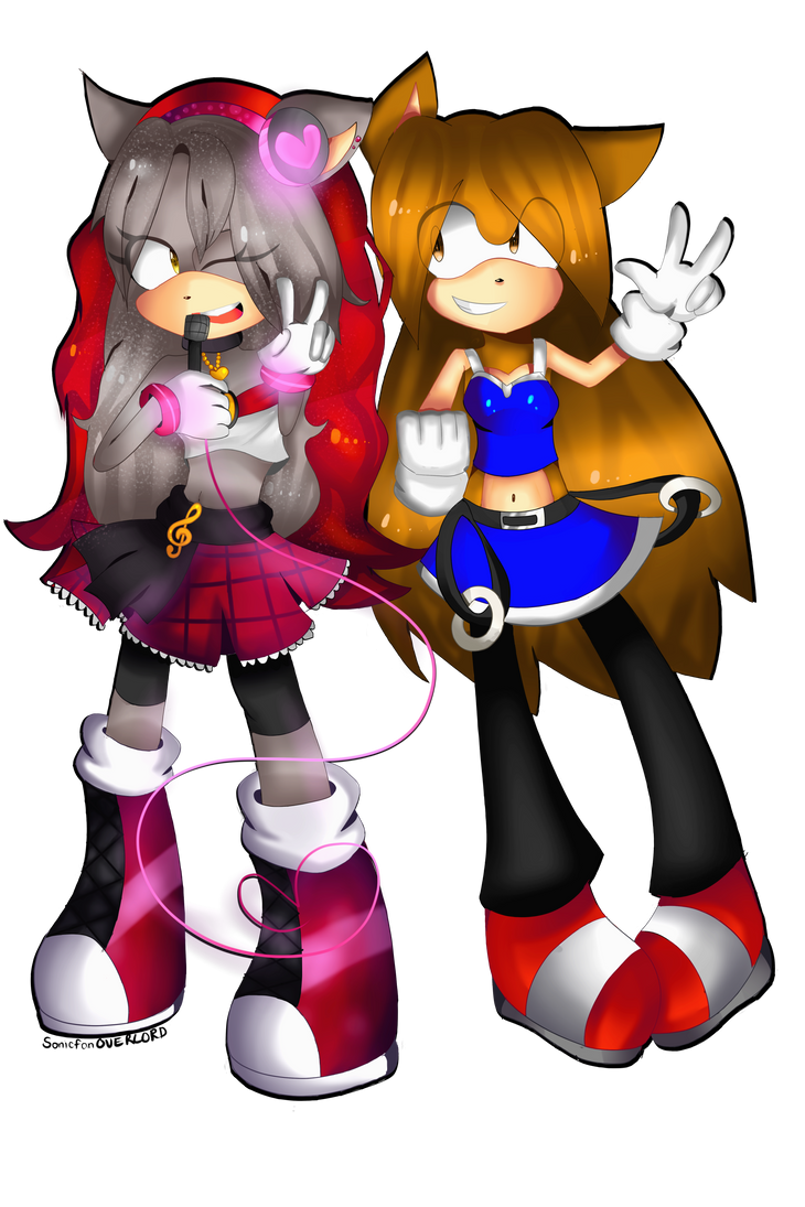PC .:Nikki and Savannah:. by Sonikku-Star