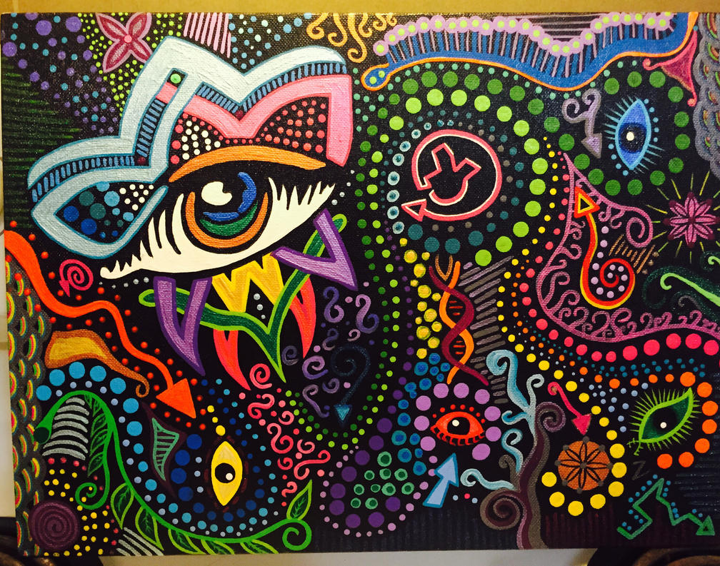Trip of eyes  by sjp2013