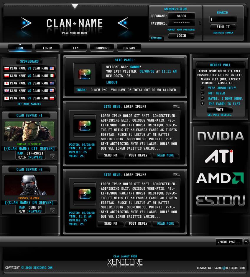 Clan Layout