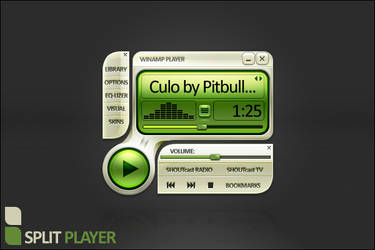 Split Player Concept by Sab0r