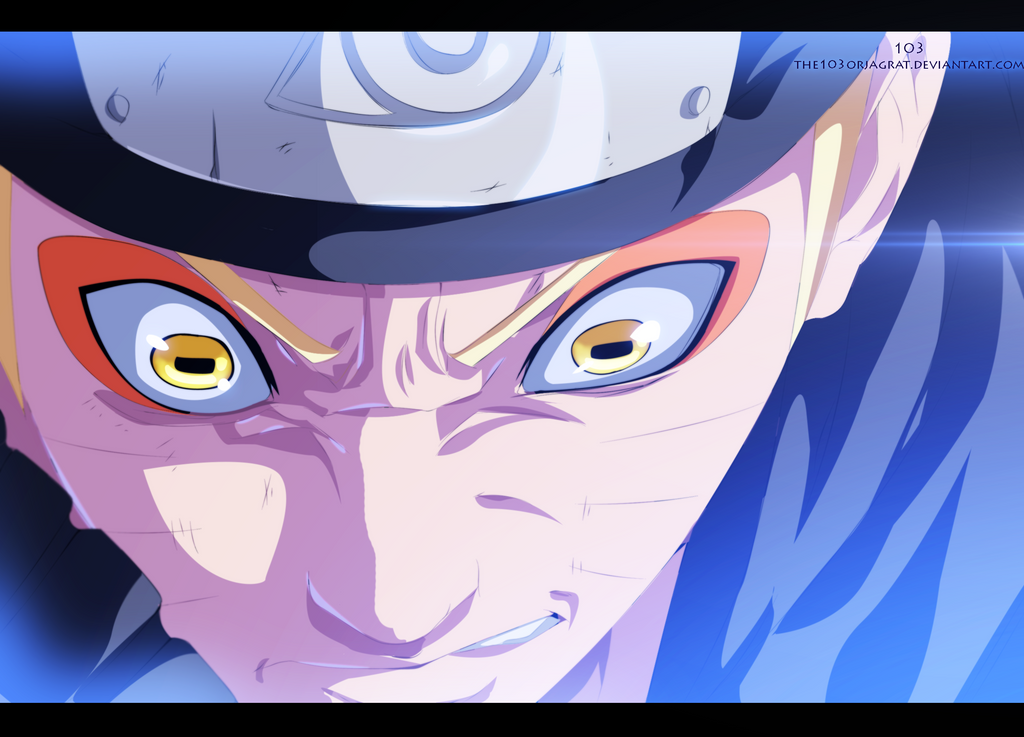 Naruto 642 - Sage mode strikes back by the103orjagrat