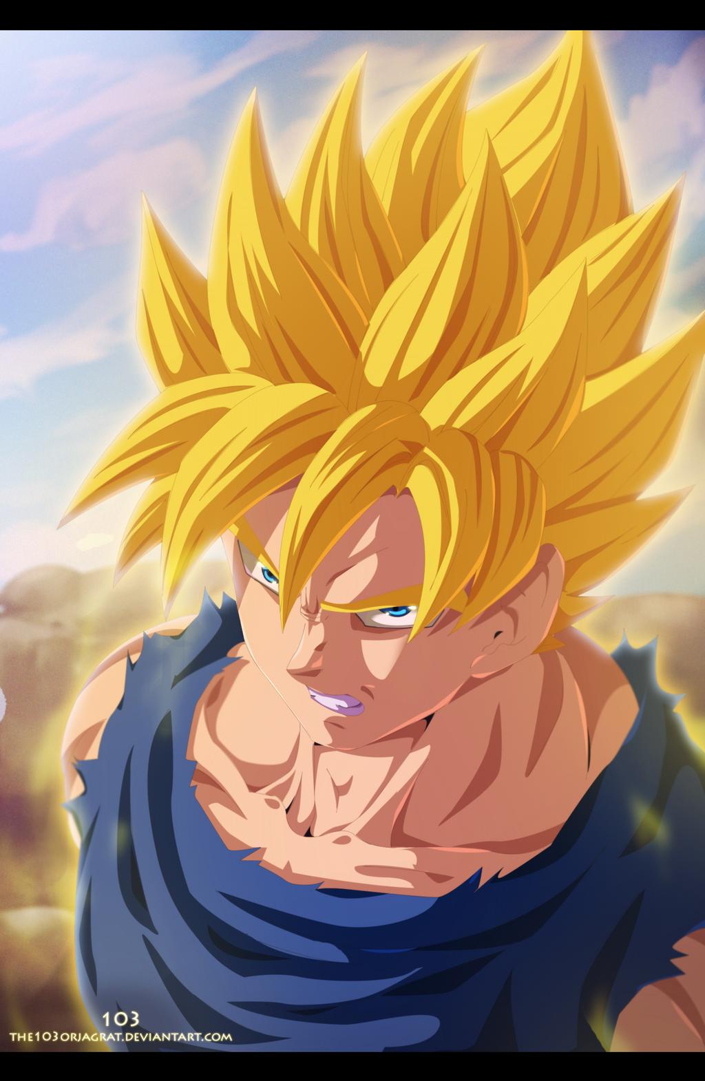 Anime hankering goku super saiyan - Super saiyan 6 goku pictures ...