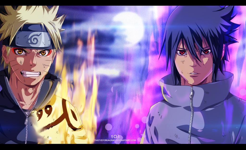 Resultado de imagen para naruto sasuke powers up