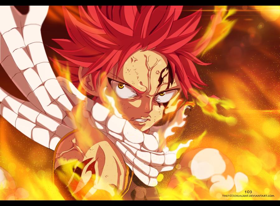 Natsu Dragneel - Fire Dragon Slayer by the103orjagrat