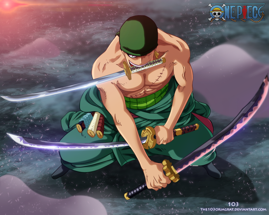 Zoro by the103orjagrat