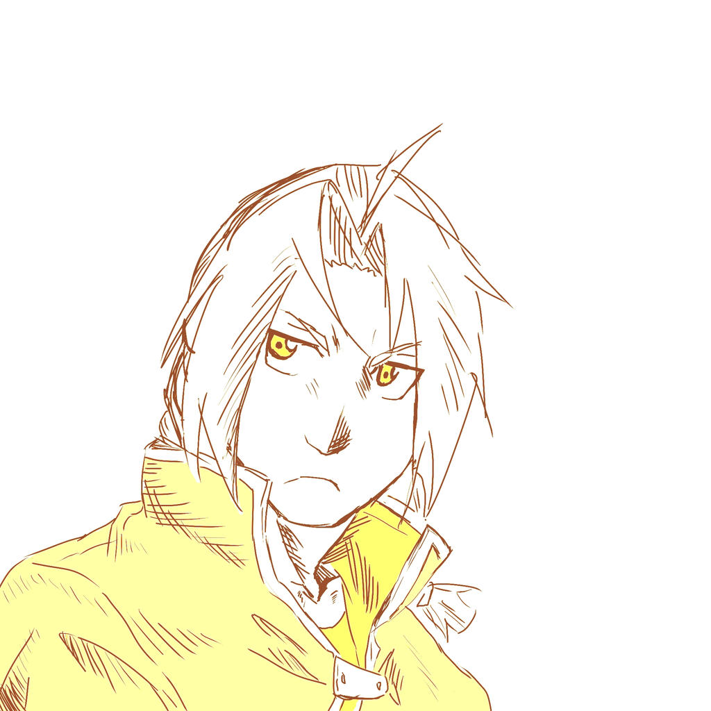 Ed Sketch in Yellow by FullmetalFlame29