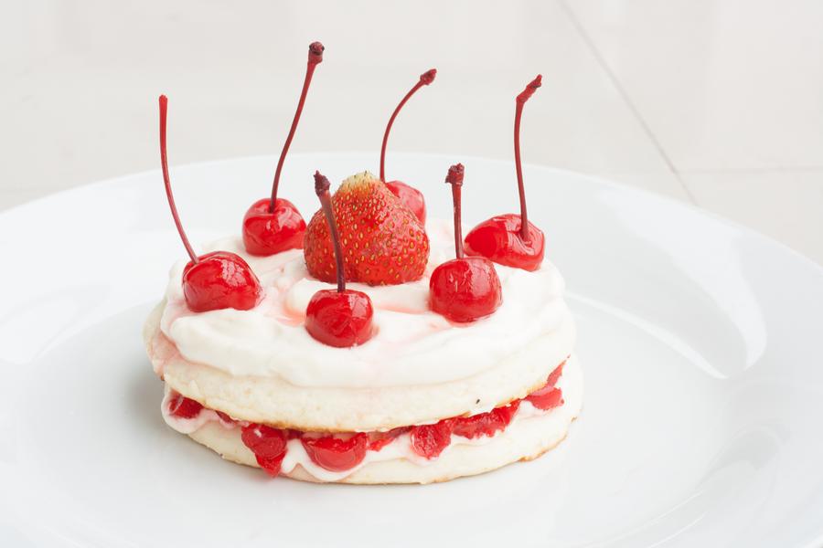 Strawberry Shortcake D Cake