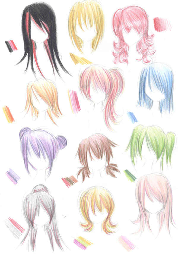 hairstyle guide by Nina-D-Lux