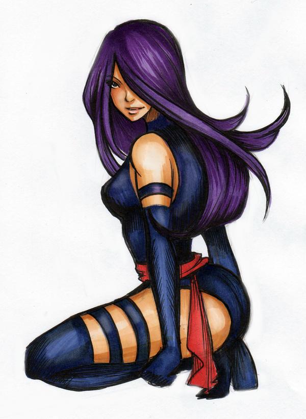 Psylocke by Nina-D-Lux