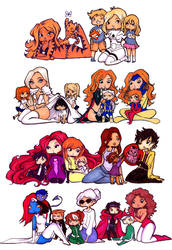 Marvel Mumma's by Nina-D-Lux