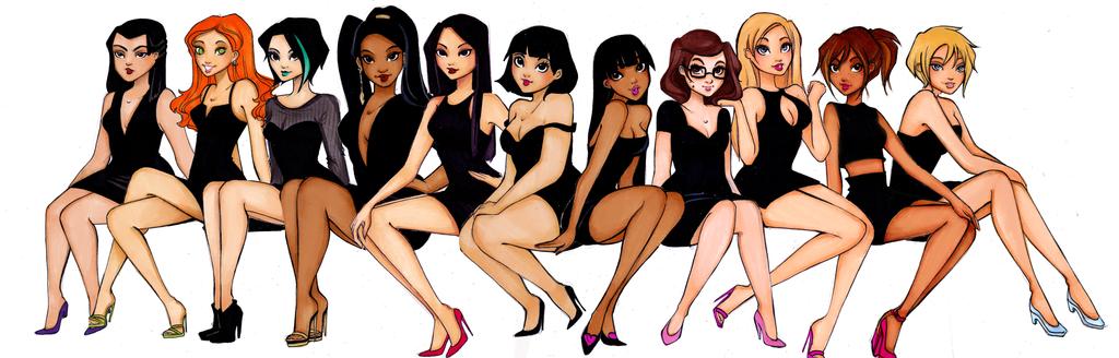 TDI girls in their twenties by Nina-D-Lux