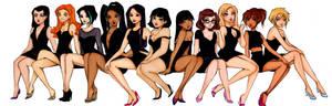 TDI girls in their twenties
